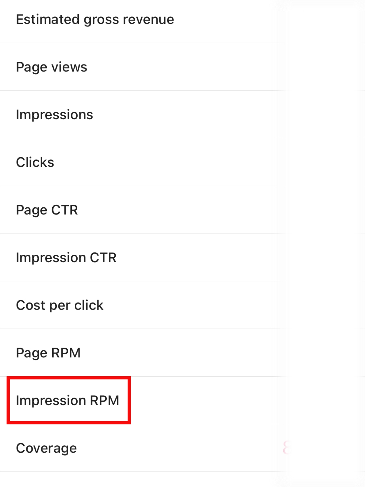 google-impression-rpm-la-gi