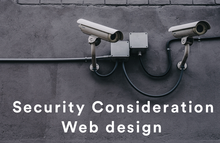 security-consideration-web-design